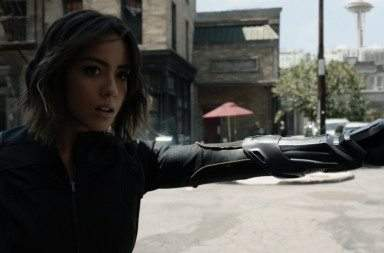 Chloe Bennet Shield Quake