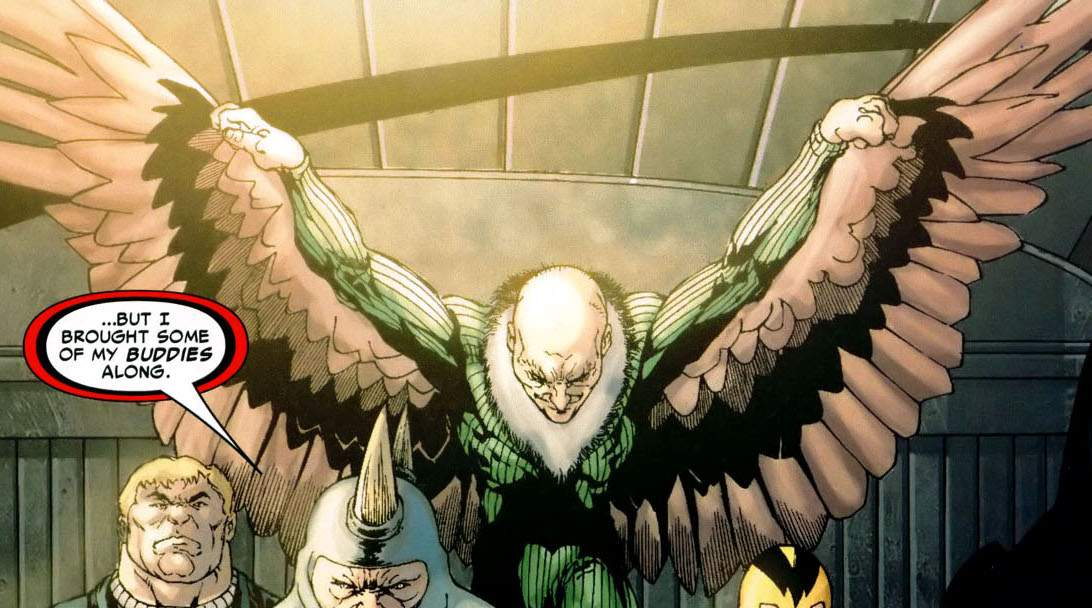rumor  vulture will be a villain in spider