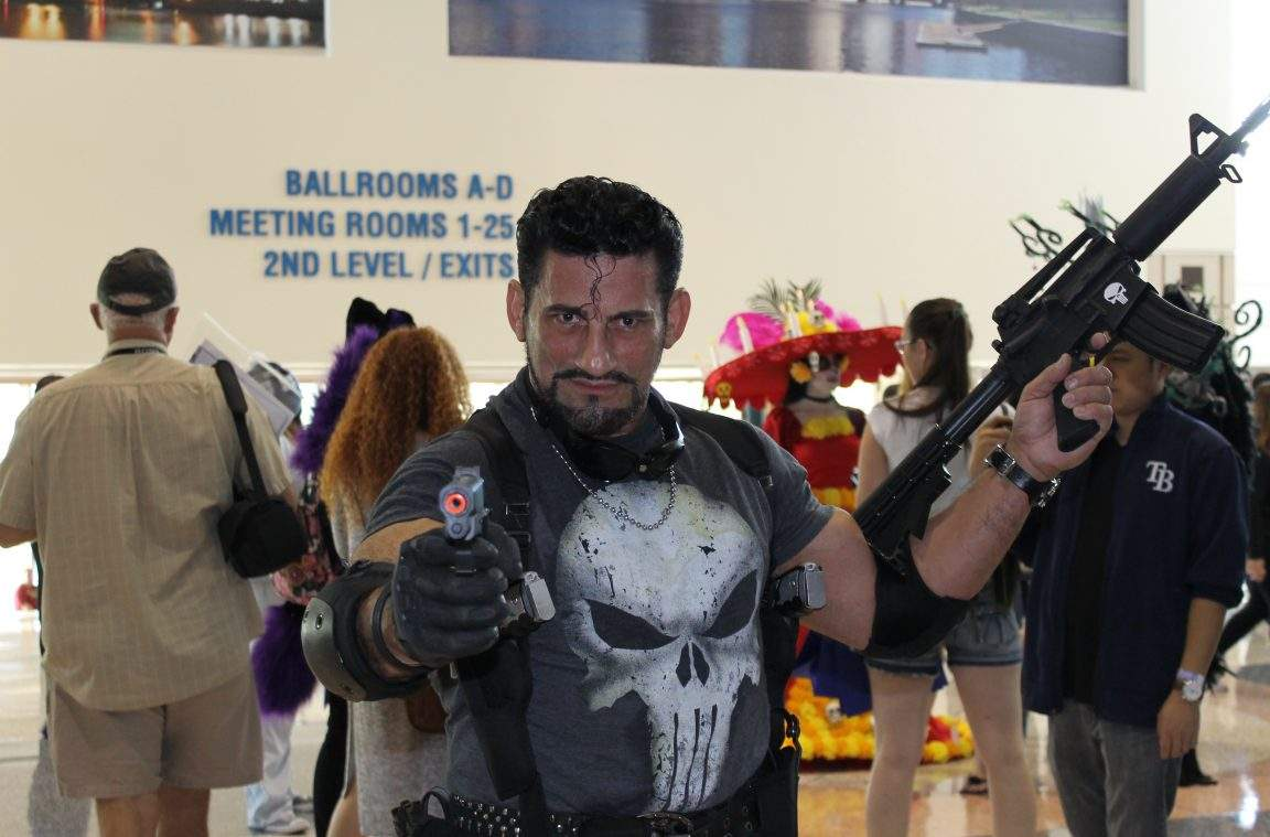 Punisher cosplay