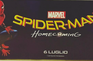 spider-man homecoming italy
