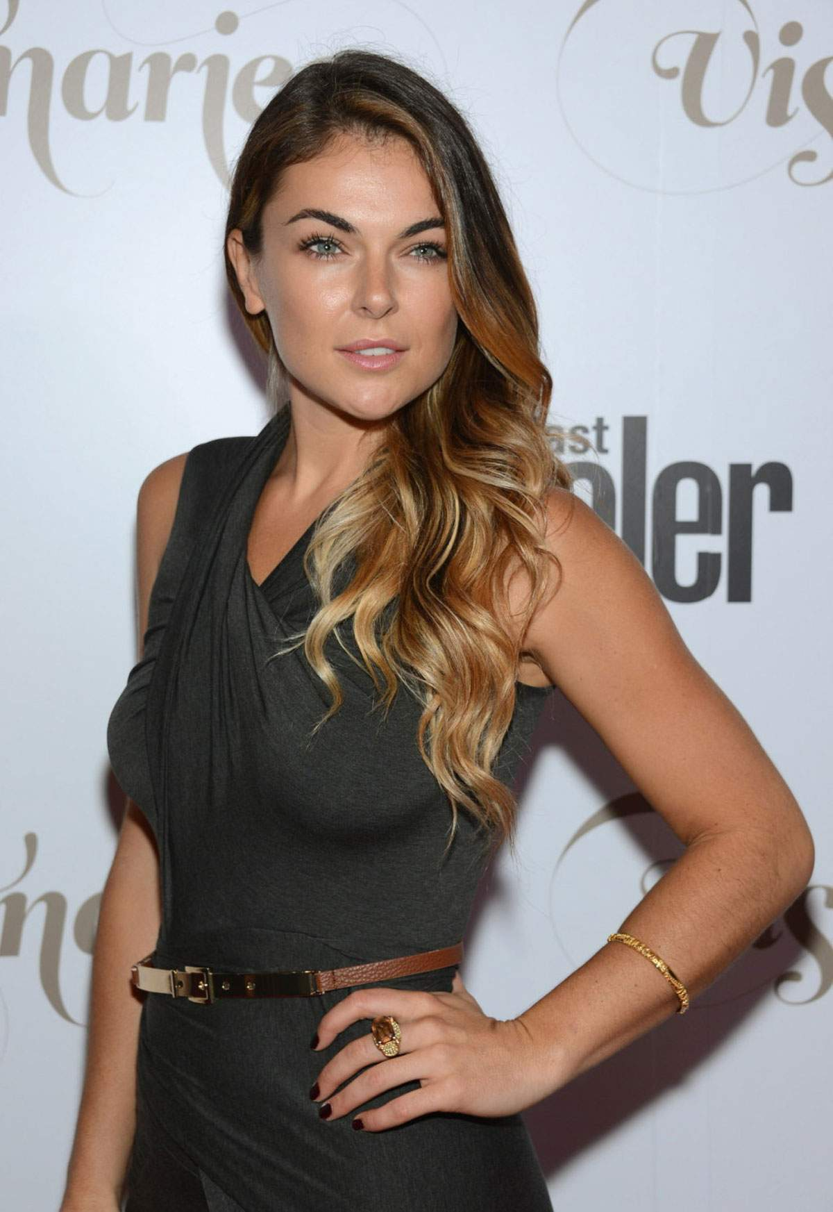SERINDA SWAN at Conde Nast Traveler Celebrates The Visionaries in New York